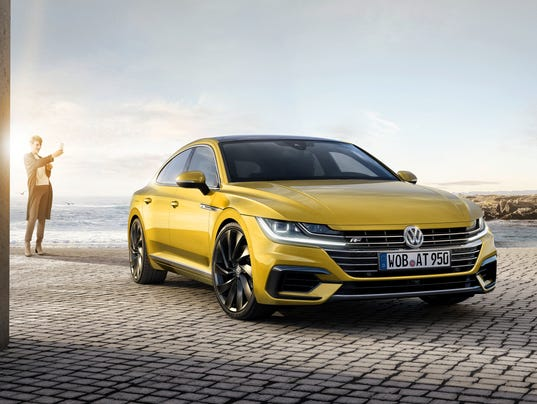 Vw Shows Its Sleek New Cc Sedan Replacement Arteon