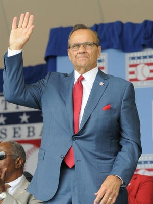 """Joe Torre is set to be part of the Baseball Hall of Fame's """"Virtual Voices of the Game"""" on Tuesday. The former New York Yankees manager was inducted into the Baseball Hall of Fame in 2014."""