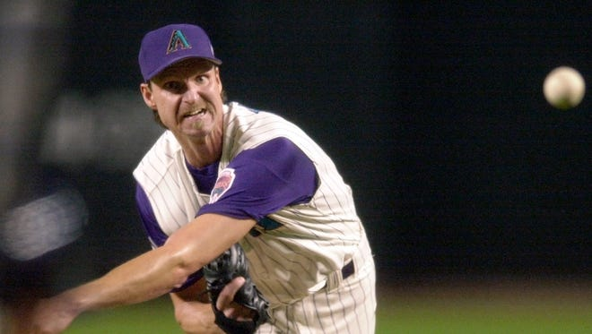 Johnson, one of the most intimidating pitchers ever and the best player in Diamondbacks history, was elected to the Hall of Fame on Tuesday.