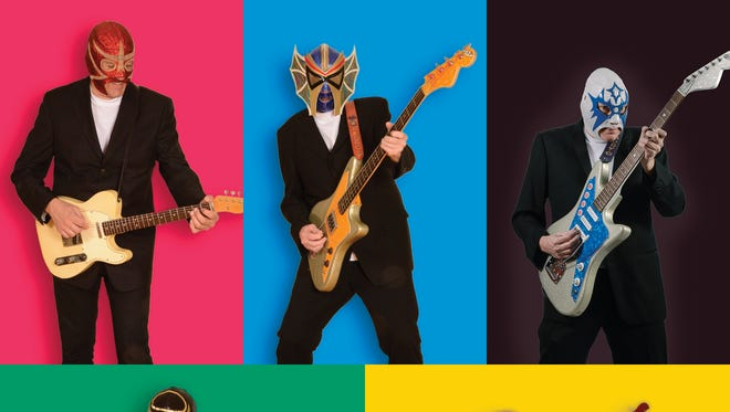 Los Straitjackets will be back in Asbury Park on Saturday.