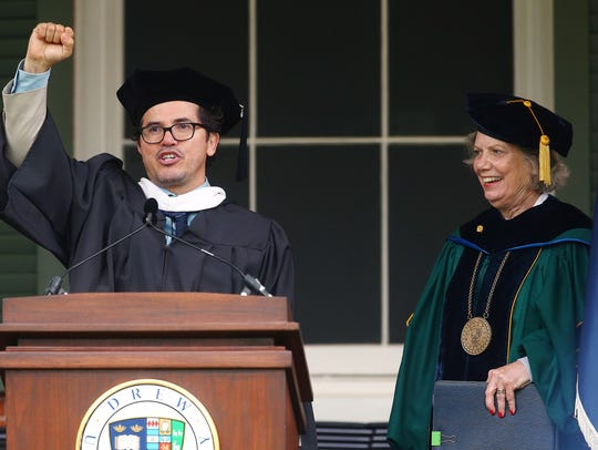 Drew University's 150th commencement speaker, actor