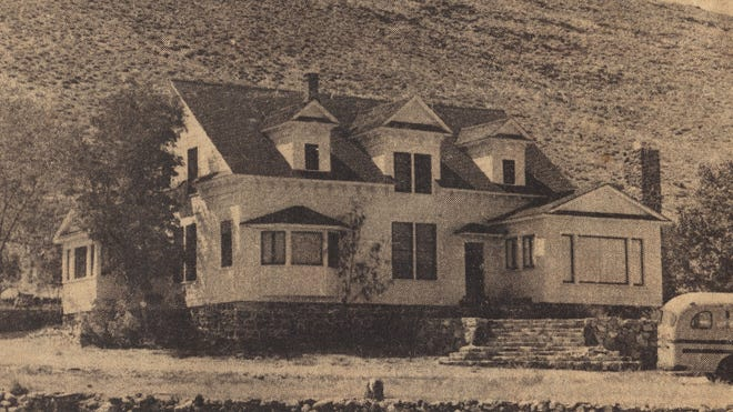 The Nordyke House in Mason Valley as it looked in the 1960s, published in the Carson Chronicle on Aug. 26, 1971.