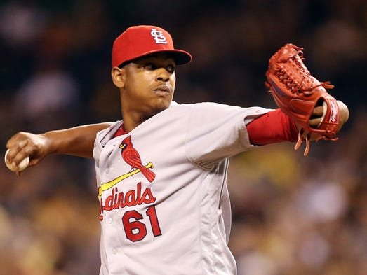 2017 -- RHP Alex Reyes, Cardinals