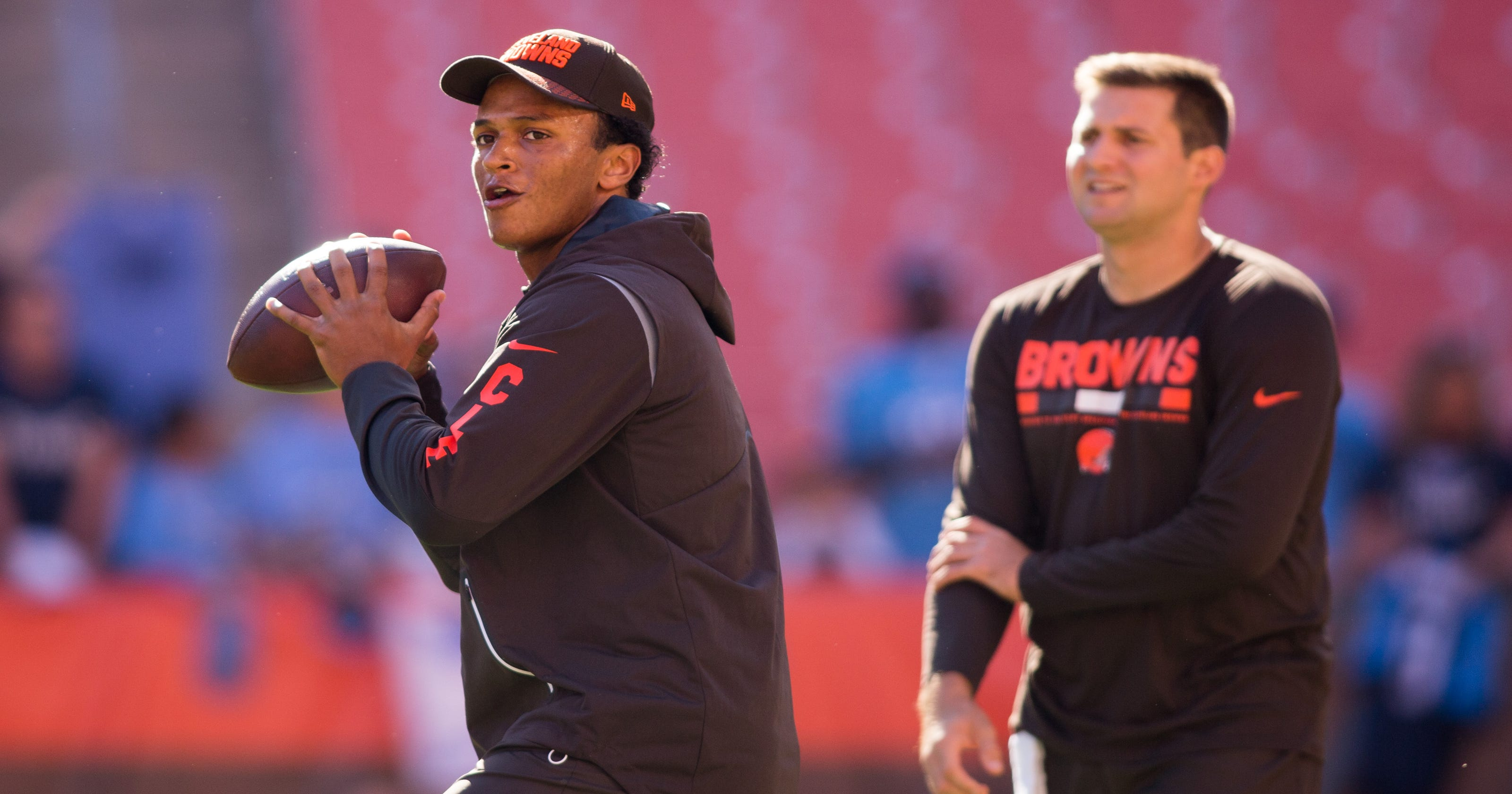 Upon Further Review  Browns making head-spinning decisions at QB with  DeShone Kizer 54db290ee