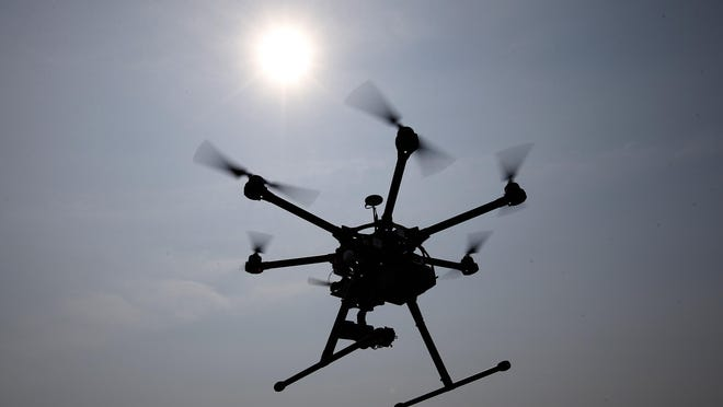Drones and other motor propelled devices are prohibited in some area parks.