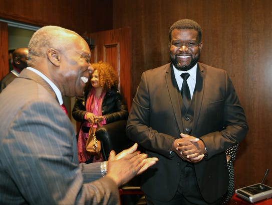 Newly appointed Spring Valley Trustee Rudolph Laurent,