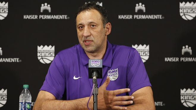Vlade Divac, who was hired by the Kings in March 2013 as vice president of basketball operations and franchise operations and was named general manager in August 2015, stepped down after the team failed to make the playoffs for the 14th consecutive season.