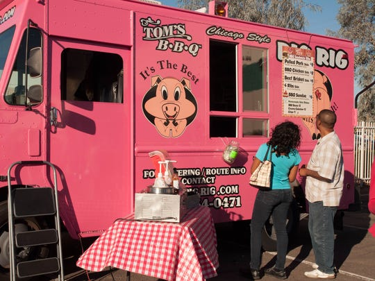 Tom's BBQ has both permanent locations and a food truck.