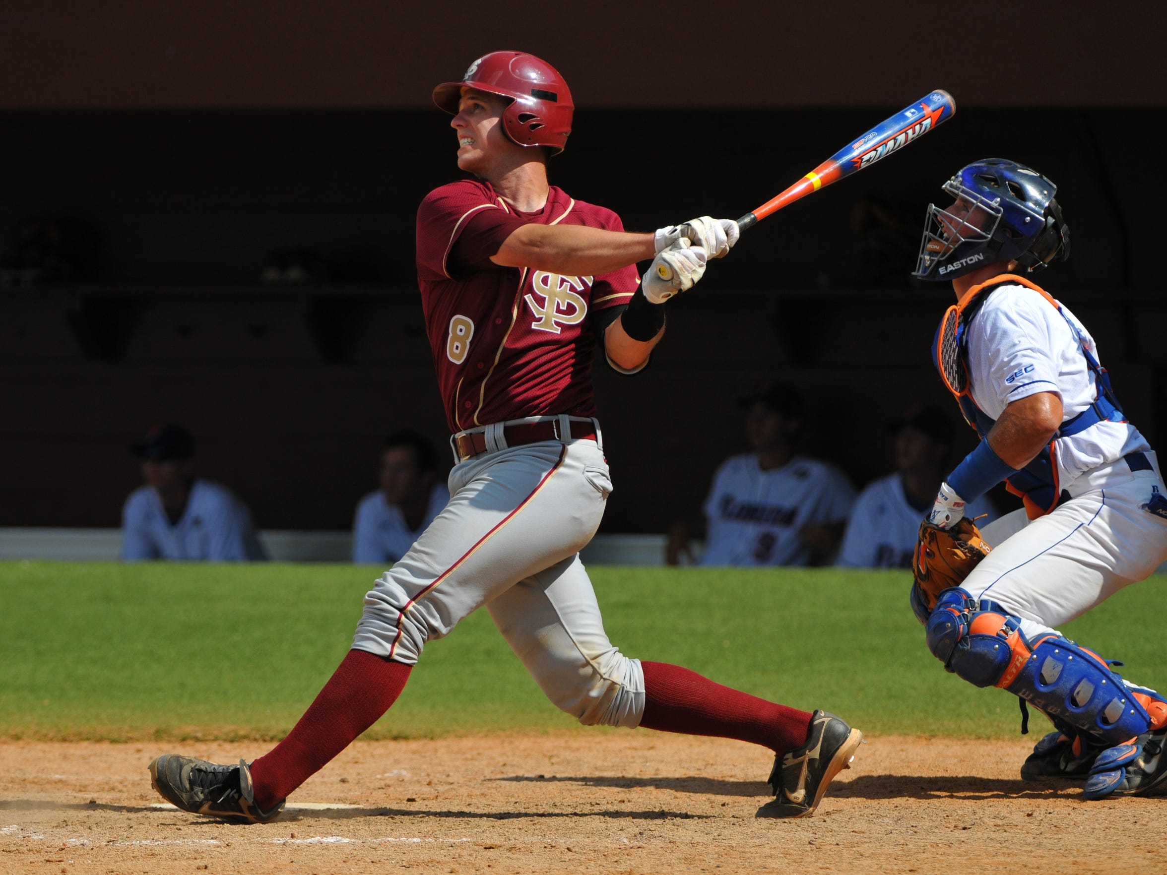 Posey batted .463 in his senior season with the Seminoles