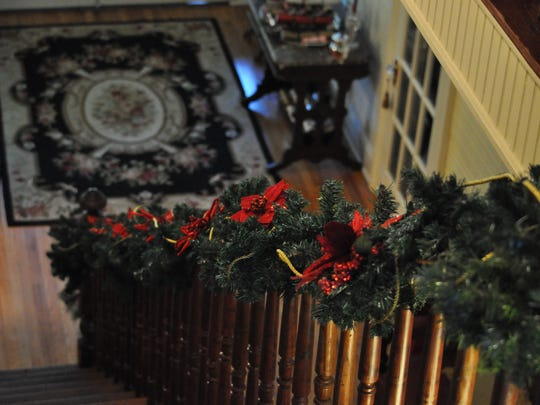 Marcia Young's Forest Hill home, already decorated for Christmas, is the location for the annual Holiday High Tea, a past fundraiser for the now closed Shepherd Center. This year the event will benefit the YWCA of Alexandria/Pineville.