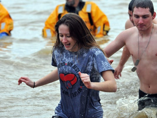 Life:  Polar Bear Dip for the Cure
