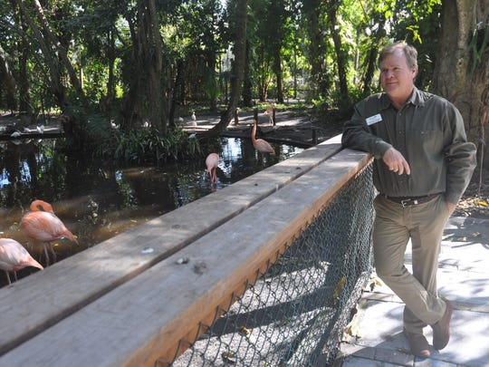 Thomas Hecker is the new director of the Everglades Wonder Gardens.