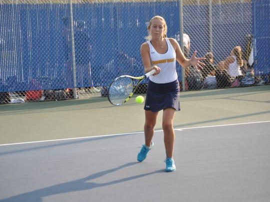 Freshman Natasha Bailey carries a 25-7 record into the state tournament.