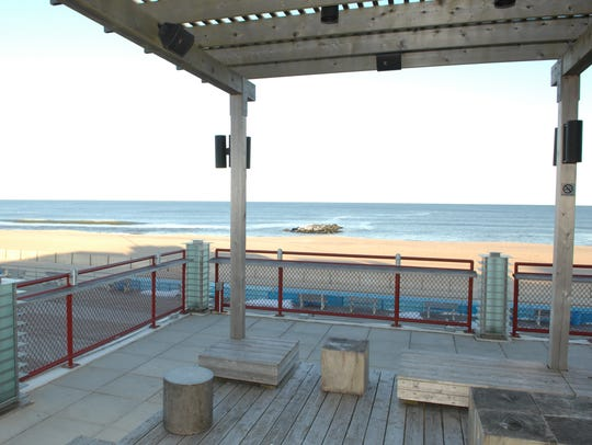 Watermark in Asbury Park boasts a stunning ocean view.