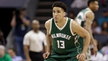 The Bucks' Malcolm Brogdon is working on a clean-water project while rehabilitating