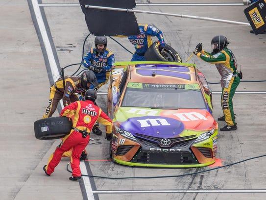 Kyle Busch's Joe Gibbs Racing pit crew has been one