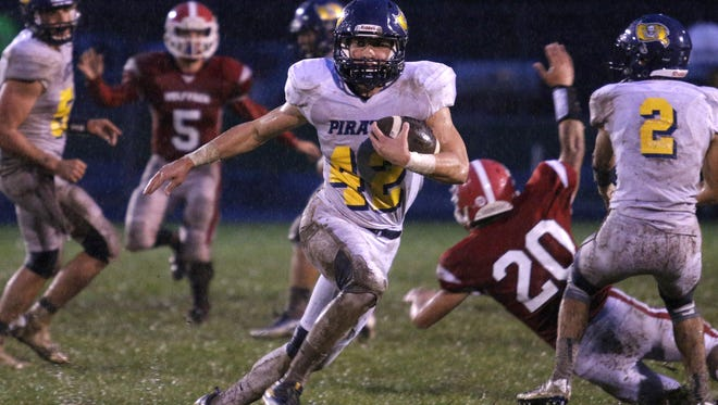 Cameron Wirth and Pewamo-Westphalia will try to take a big step toward a third straight CMAC title Friday.