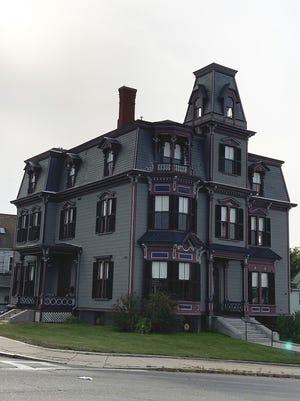 The S.K. Pierce Victorian Mansion in South Gardner.