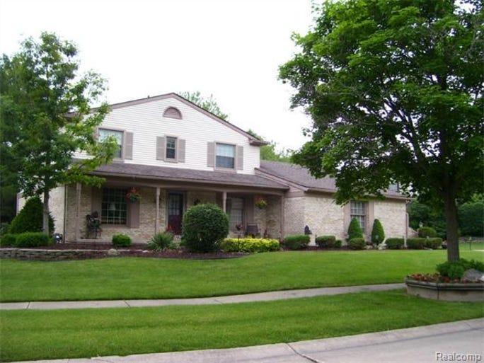The home is in the Quail Ridge Estates subdivision