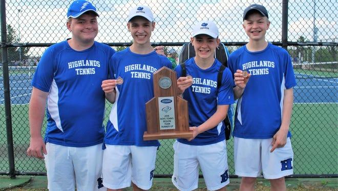 Highlands was 10th Region boys runner-up