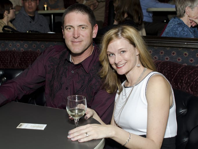 Anna and Ian Satterfield at Chris Botti's set at John Ascuaga's Nugget in Sparks.