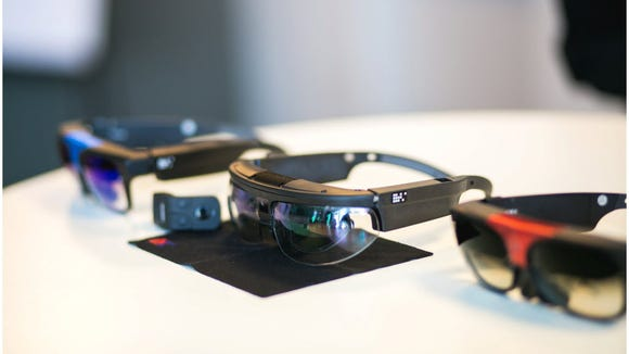 ODG's R-7 is a self-powered AR device that already
