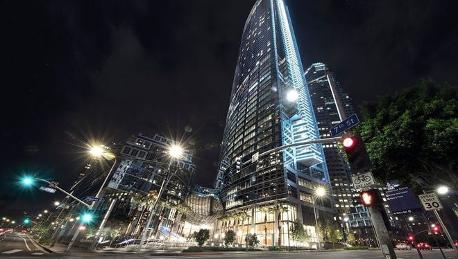 The InterContinental Los Angeles Downtown recently opened. It is one of about 5,200 hotels Kimpton Karma Reward members will now have access to.