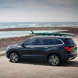 2016 Honda Pilot has been priced