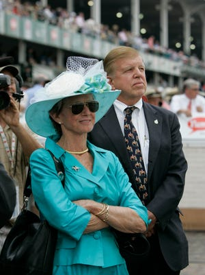 Barbaro's owners, Gretchen and Roy Jackson, attended the 2007 Kentucky Derby a year after their colt won it.