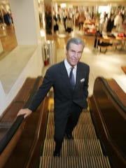Terry Lundgren, CEO of Macy's, at Macy's Herald Square