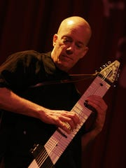 Steve Hahn plays the bass-like Chapman stick Sept, 19 and Sept. 26 at RAPA at School of the Arts,