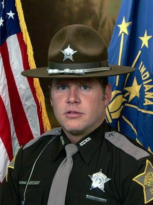 Jason Woods when he was a Hendricks County sheriff's deputy.
