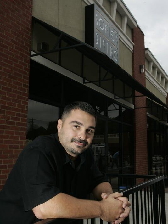 Sophie's Bistro, Owner Bill Darsinos