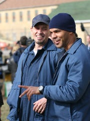 Robert Knepper, left, and Amaury Nolasco, seen in the