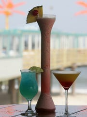 Toast the summer with a cocktail at Martell's Tiki Bar in Point Pleasant Beach.