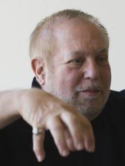 Grammy Awards producer Ken Ehrlich photographed at his home in La Quinta.
