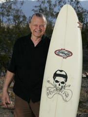 Dick Dale, the king of surf guitar, lived on a ranch in Twentynine Palms, Calif.