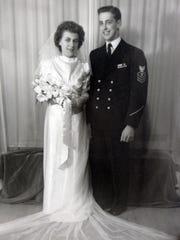 Dorthea Kelley, 88, and her husband Robert Kelley,