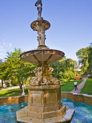 A look at the Josephine Fountain as it was in 2010.