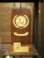 The 1978 Division I-AA national championship trophy