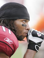 Larry Fitzgerald in 2005.