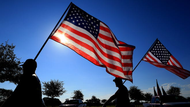 Del Mar College will host a Heroes Memorial Flag Garden Ceremony to honor veterans and fallen service members at 1:30 p.m. Monday, Nov. 7, between the White Library and English Building, Del Mar College East.