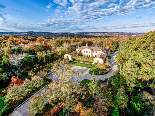 Keith and Deby Pitts' Belle Meade home is on the market for $14.9 million. Features include an outdoor pool, lush gardens, 10,000-bottle wine cellar and heated bathroom and outdoor balcony floors. For more information about the home, contact Laura P. Stroud at 615-330-5811 or laura@frenchking.com; or Lisa F. Wilson at 615-478-3632 or lisa@frenchking.com.