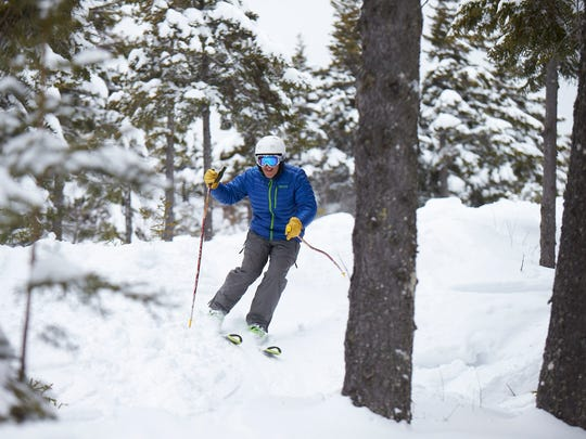 Bretton Woods has glades geared to every skier's ability, and often powder can be found days after a storm.