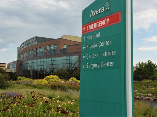 The five-story Prairie Center at Avera McKennan is