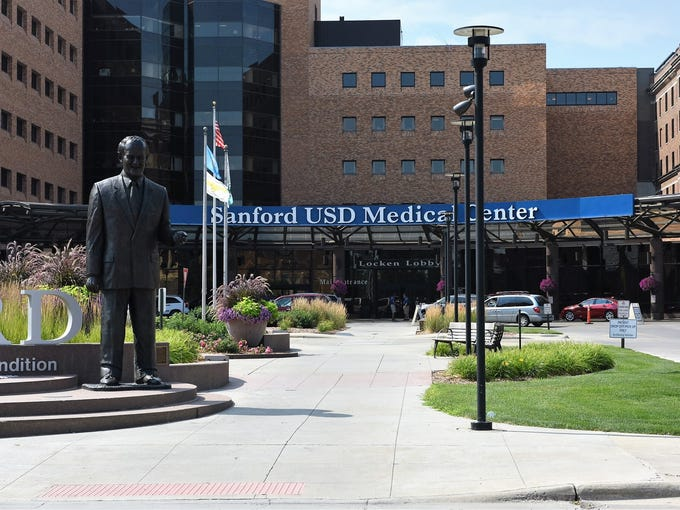 Sanford Health has seen its footprint increase from