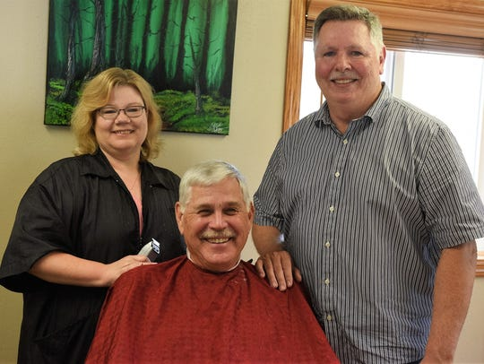 Roger Timmerman, former owner and barber at The Hair
