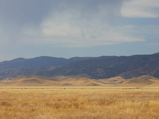 The 204,000-acre Carrizo Plain National Monument has