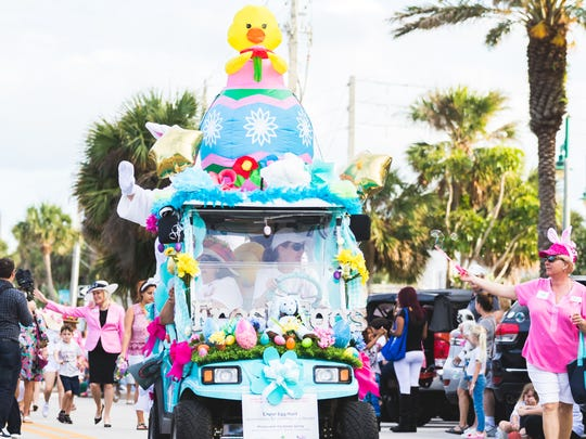The Golf Cart Parade will take place on Ocean Ave.