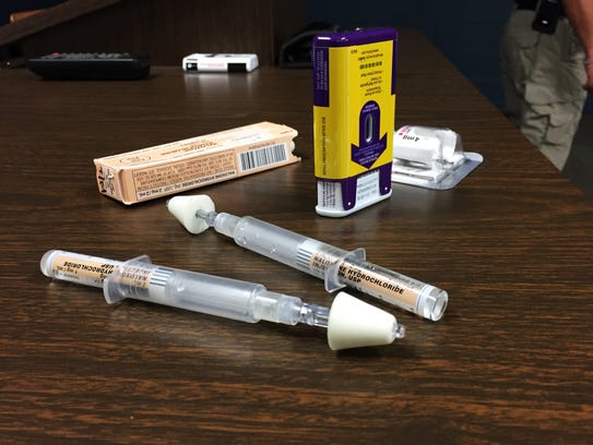 An increasing number of police departments are carrying Narcan kits, used to reverse opioid overdoses. Fire departments have long carried the drug, which comes as an injection or an inhaler.